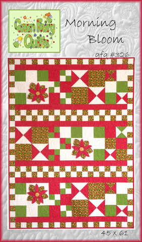 GFQ Morning Bloom Quilt Pattern ***PDF***