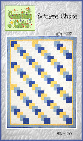 GFQ Square Chase Quilt Pattern ***PDF***