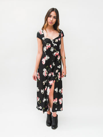 Moonflower Midi Dress