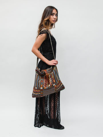 Multi-Color Aztec Bag