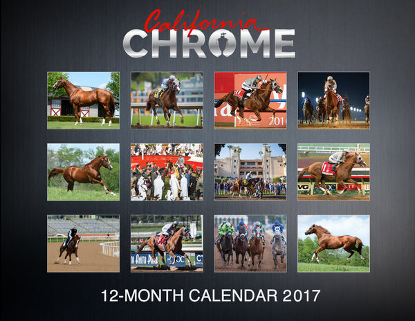 CC2 2017 California Chrome Calendar