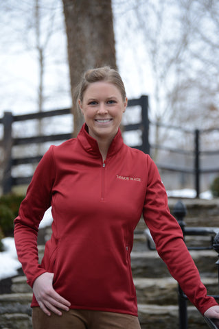TM Nike Ladies 1/4 Zip Pullover