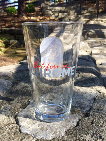 CC2 California Chrome Breeders' Cup Pint Glass