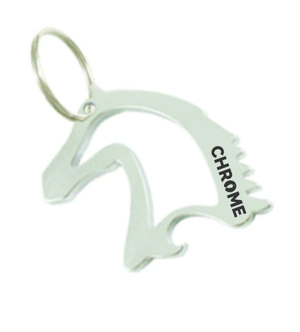CC2 Horse Head Key Chain Bottle Opener