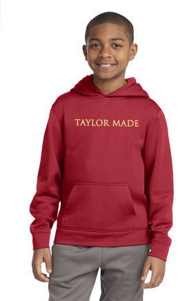 TM YOUTH Sport-Tek Fleece Hooded Pullover