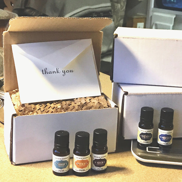 THRESHOLDS OF INITIATION: ESSENTIAL OILS HEALING SET (LIFTAWAY, LION HEART & PURE JOY)