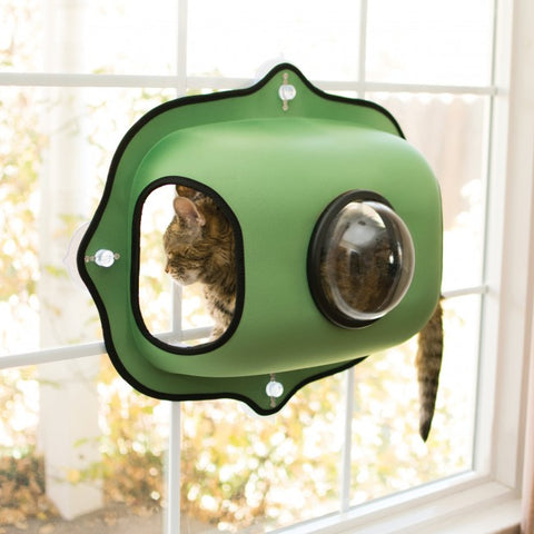EZ Mount Window Bubble Pod Green