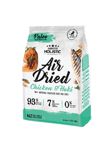 Absolute Holistic Air Dried Cat Food Chicken & Hoki - 500gm