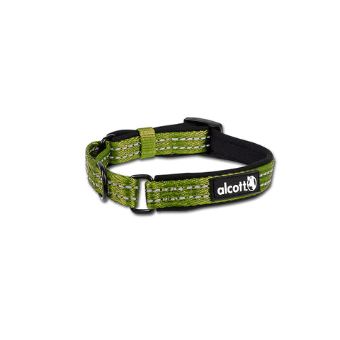 Alcott Adventure Reflective Collar Green