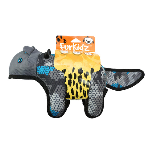 African Safari Honey Badger Blue/Grey - 35cm