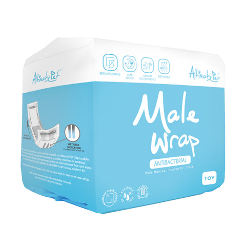 Altimate Pet Male Wraps
