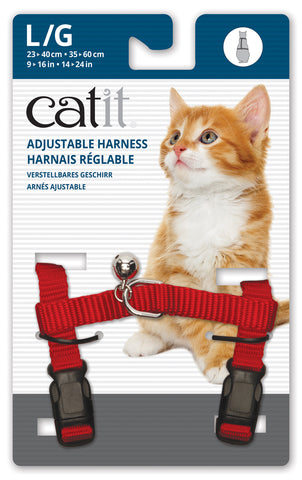 Catit Nylon Cat Adjustable Harness Large