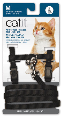 Catit Nylon Cat Adjustable Harness and Lead Medium