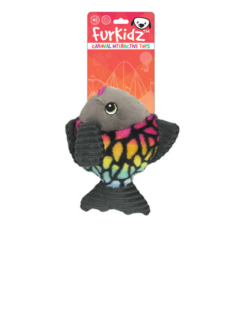 FurKidz Carnival Fish with Action Fins - 23cm
