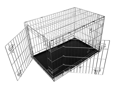 Comfort Deluxe Collapsible Wire Crate