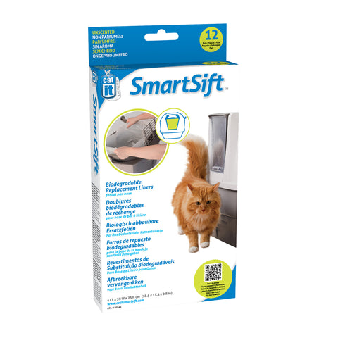 Catit Smartsift Replacement bags Base Bin (12)