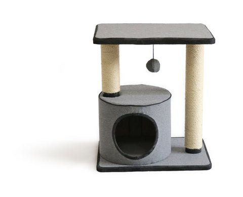 Furkidz Click Fit Twin Post with Condo & Platform 47 x 34 x 53cm