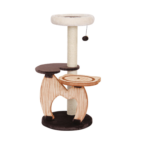 "Furkidz Cat-I-Tude ""Rondure"" Play 'n Rest Station 95x45x45cm"