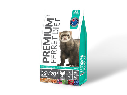 Premium Ferret Diet 2.5kg Bag