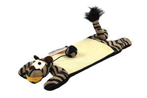 Floor Scratcher with Catnip - Tiger