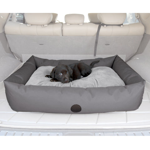 Luxury Travel SUV Cargo Bed Grey