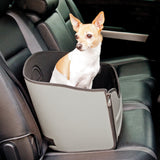 K & H Mod Safety Pet Seat for Cars Grey