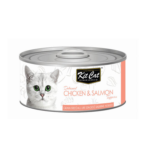 Kit Cat Chicken & Salmon Cat Food - 80gm