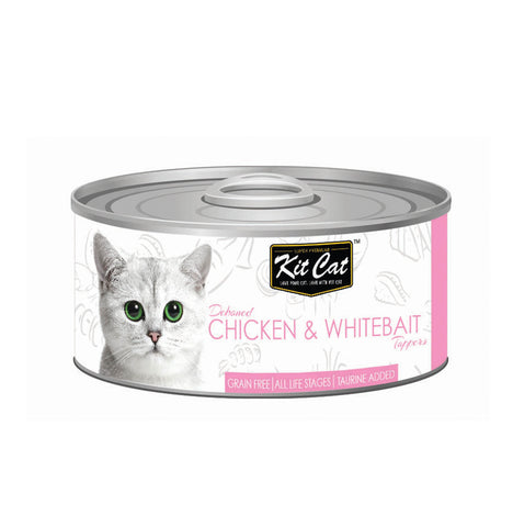 Kit Cat Chicken & Whitebait Cat Food - 80gm