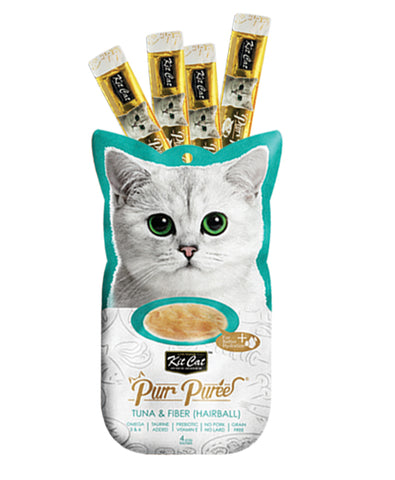Purr Puree Tuna & Fibre (Hairball) - 60gm