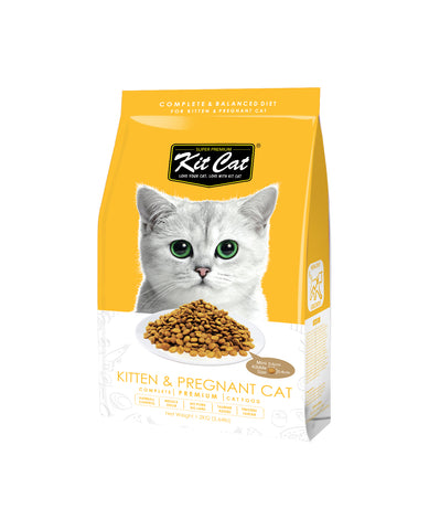 Kit Cat Premium Cat Food - Kitten & Pregnant Cat Food 1.2kg