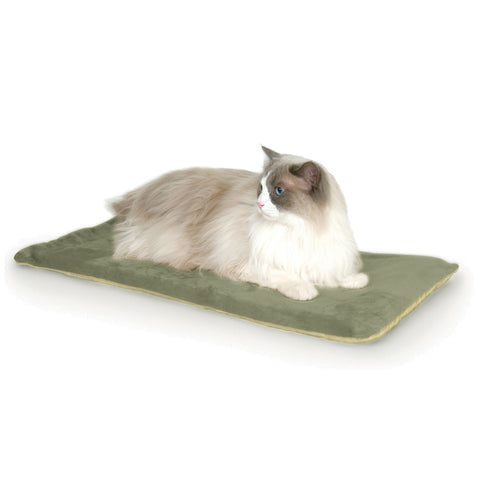 K & H Thermo Kitty Heated Pet Mat Sage 63 x 32cm 6w