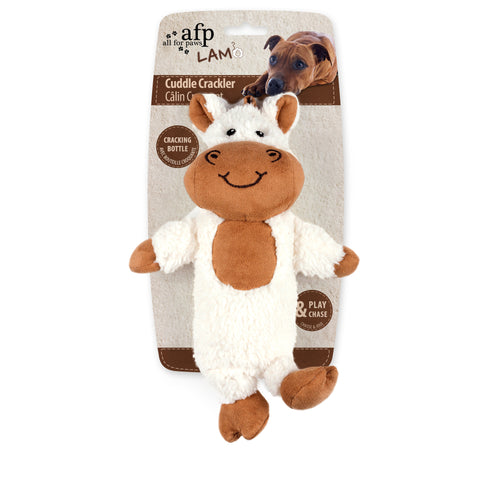 Cuddle Cracklers Horse Dog Toy 28x19cm