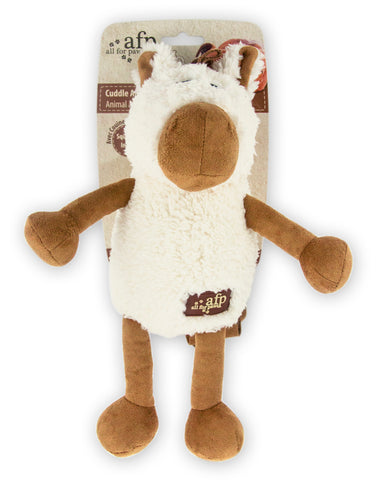 Cuddle Jumbo Farm Horse Dog Toy 28x27cm