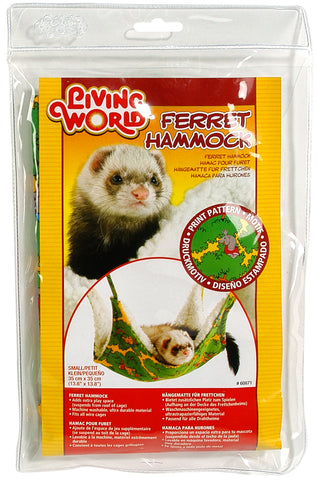 Living World Ferret Hammock Green 35cm