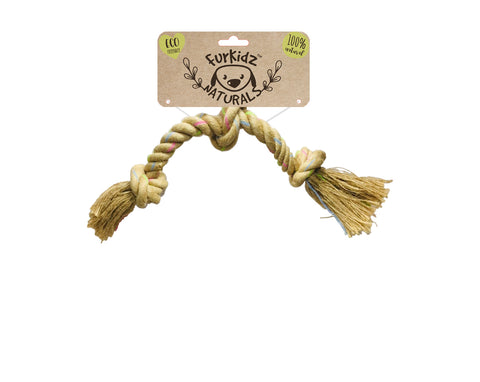 Natures Choice Triple Knott Jute Toy - 46cm (180-190gm)