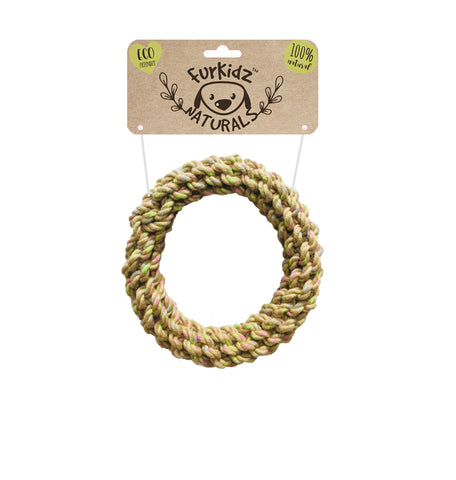 Natures Choice Jute Rope Ring - 18x18cm (280-290gm)