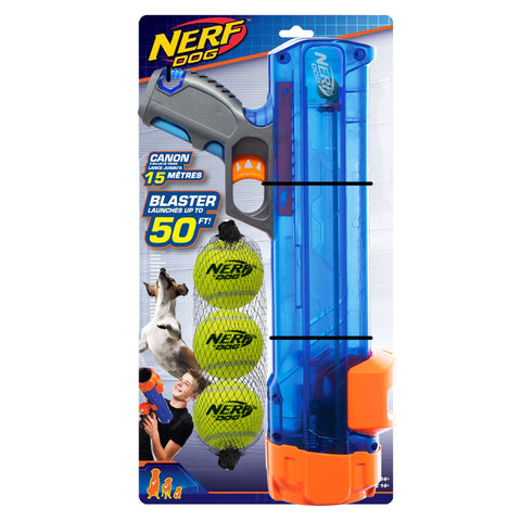 Nerf Translucent Tennis Ball Blaster Set 40cm