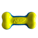 Nerf - TPR Exo Squeak Bone - Blue/Green 10.5cm