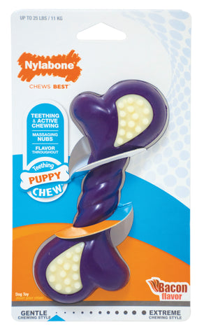 Nylabone Double Action Puppy Bone - Regular