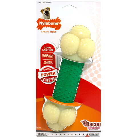 Nylabone Power Chew Action Chew Bacon - Souper