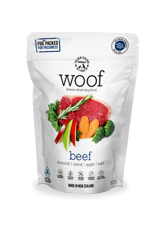 Woof Freeze Dried Dog Food Beef - 280gm