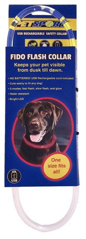 Fido Flash LED Safety Collar