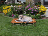 Carlson Portable Dog Bed Small (65 x 65cm) - Tan