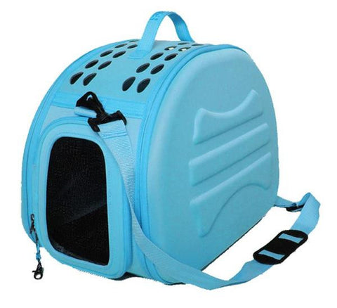 Comfort Luxury Carrier with Pad - Blue