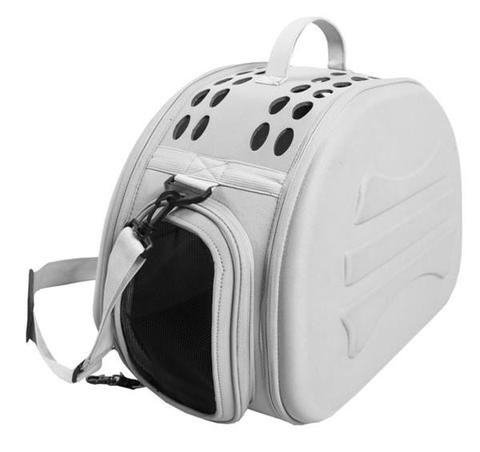 Comfort Luxury Carrier with Pad - Grey