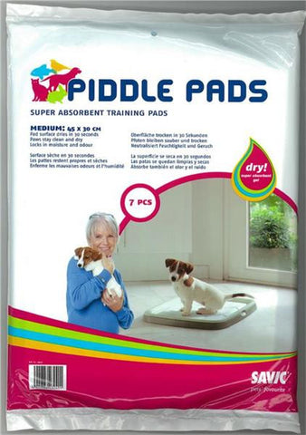 Savic Piddle Puppy Training Pads Medium - 7 Pack