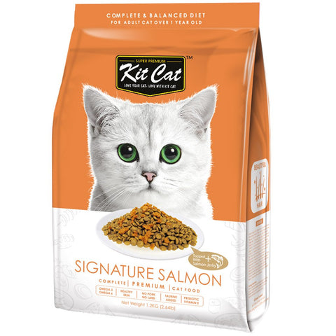 Kit Cat Premium Cat Food - Signature Salmon 5kg