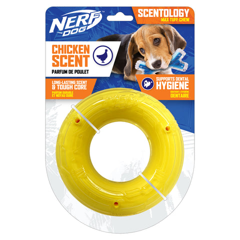 Nerf Scentology Ring Chicken Clear/Yellow 15cm