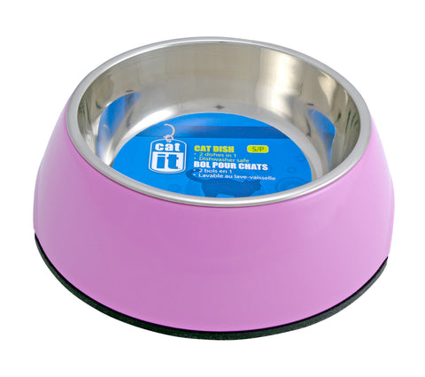 Catit 2 in 1 Style Durable Cat Bowl XSmall 160ml