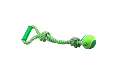 Teeth & Breath Single Ball Tugger - 45cm (340gm)